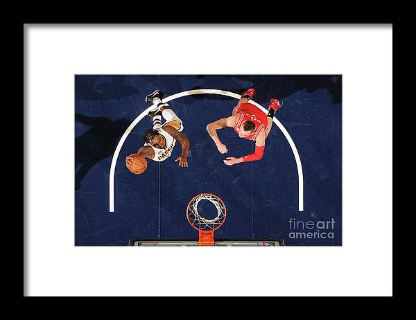 Nba Pro Basketball Framed Print featuring the photograph Rakeem Christmas by Ron Hoskins
