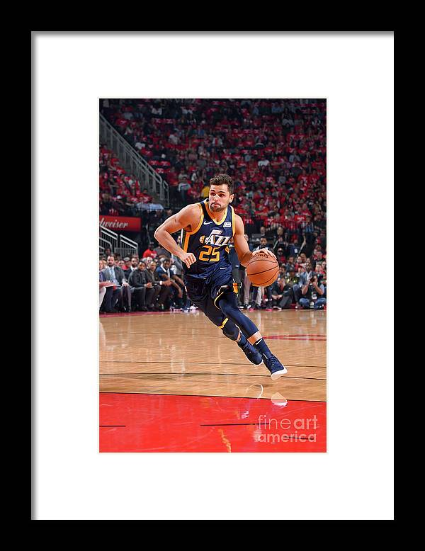 Playoffs Framed Print featuring the photograph Raul Neto by Bill Baptist