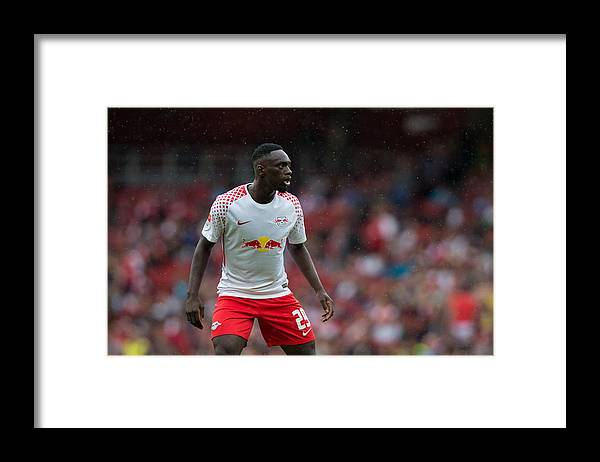 The Emirates Stadium Framed Print featuring the photograph RB Leipzig v Sevilla FC - Emirates Cup by Craig Mercer - CameraSport