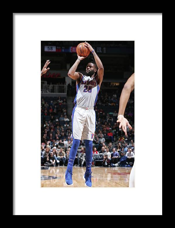 Nba Pro Basketball Framed Print featuring the photograph Reggie Bullock by David Sherman