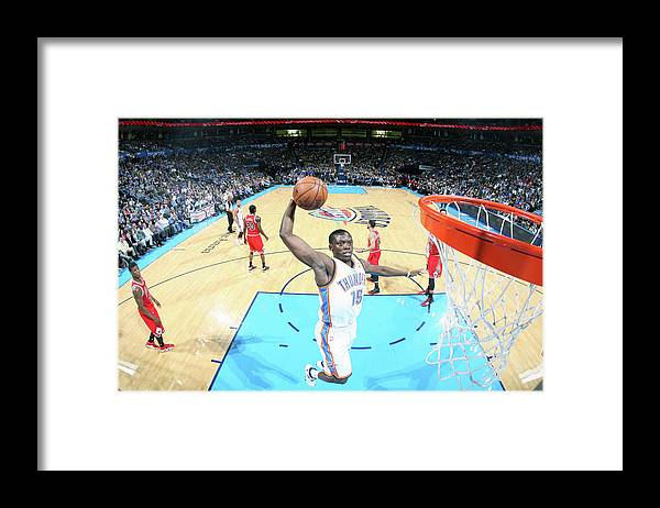 Nba Pro Basketball Framed Print featuring the photograph Reggie Jackson by Layne Murdoch Jr.
