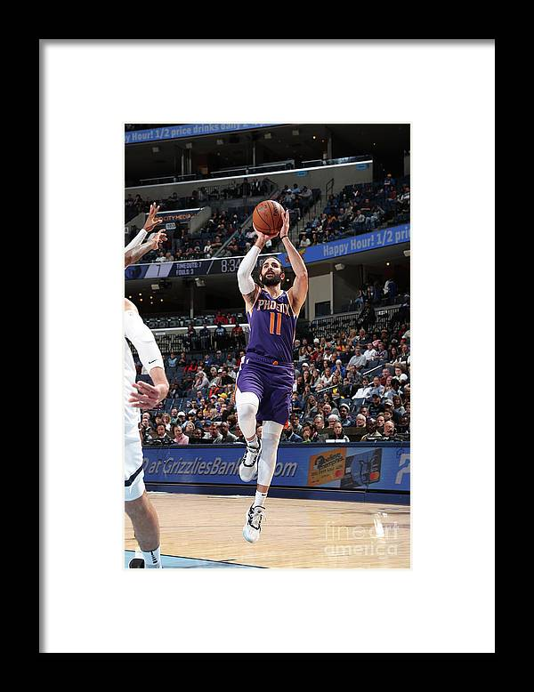 Nba Pro Basketball Framed Print featuring the photograph Ricky Rubio by Joe Murphy