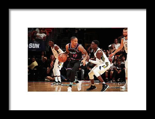 Nba Pro Basketball Framed Print featuring the photograph Rodney Mcgruder by Issac Baldizon