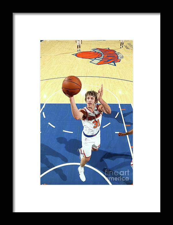 Nba Pro Basketball Framed Print featuring the photograph Ron Baker by Nathaniel S. Butler