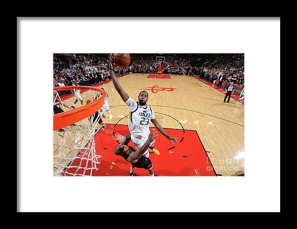 Playoffs Framed Print featuring the photograph Royce O'neale by Bill Baptist