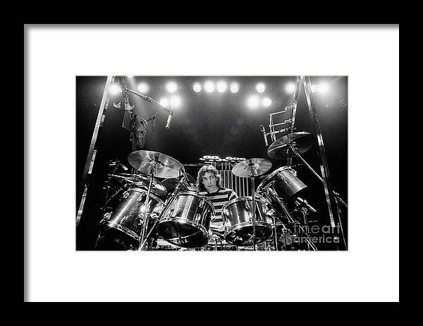 Rush Framed Print featuring the digital art Rush Neil Peart Poster by Trindira A