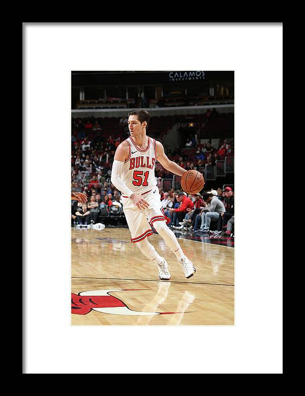 Nba Pro Basketball Framed Print featuring the photograph Ryan Arcidiacono by Gary Dineen