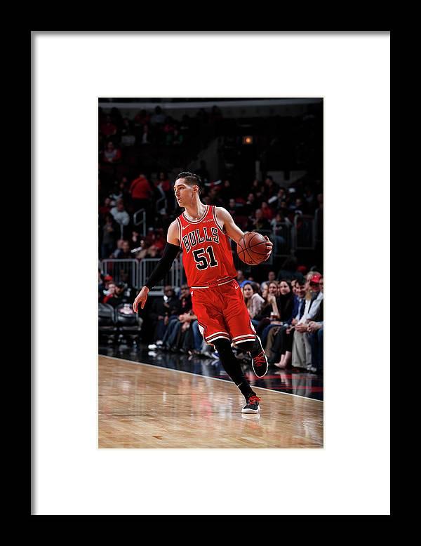 Nba Pro Basketball Framed Print featuring the photograph Ryan Arcidiacono by Jeff Haynes