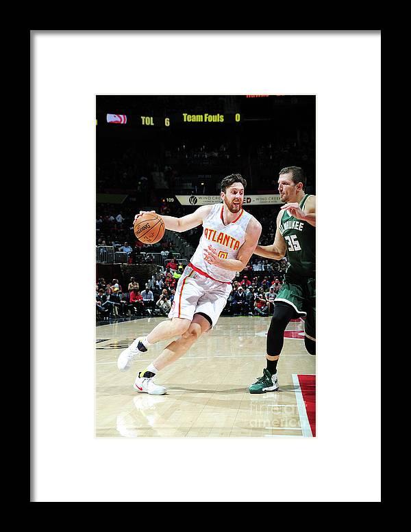 Atlanta Framed Print featuring the photograph Ryan Kelly by Scott Cunningham