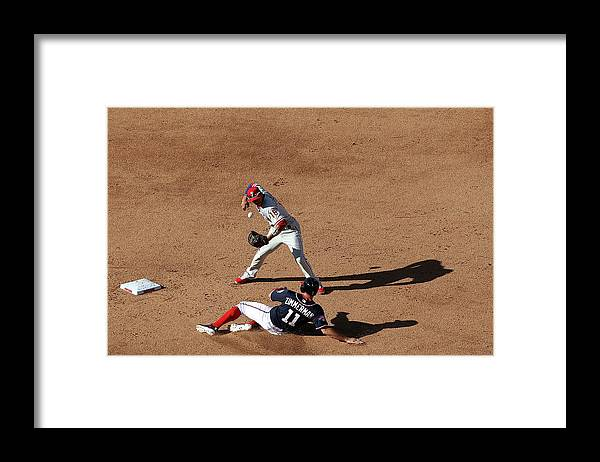 People Framed Print featuring the photograph Ryan Zimmerman by Patrick Smith