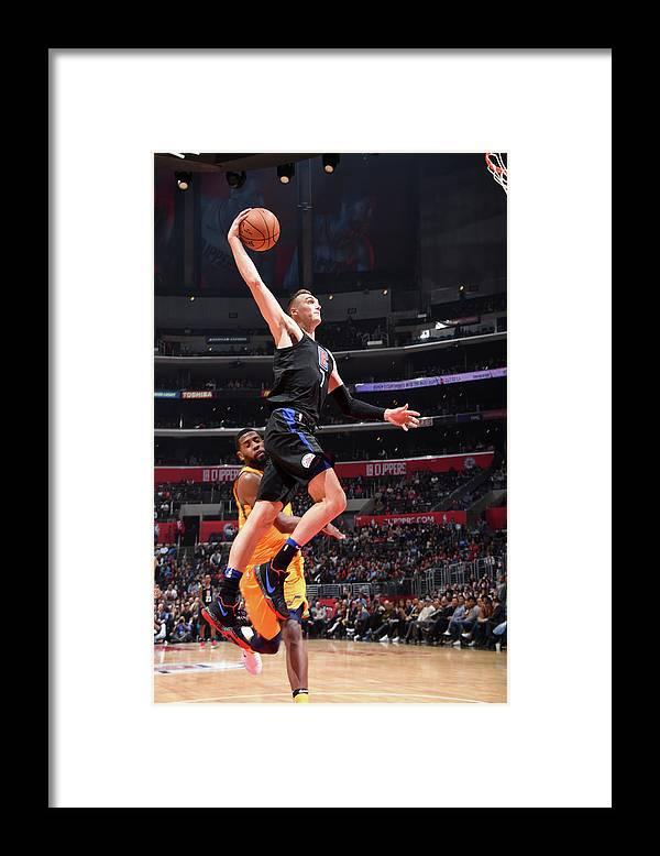 Nba Pro Basketball Framed Print featuring the photograph Sam Dekker by Andrew D. Bernstein