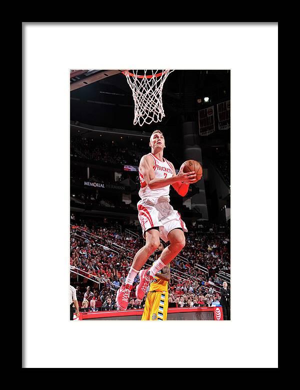 Nba Pro Basketball Framed Print featuring the photograph Sam Dekker by Bill Baptist