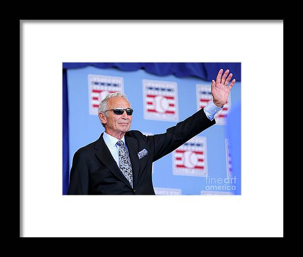Sandy Koufax Framed Print featuring the photograph Sandy Koufax by Elsa