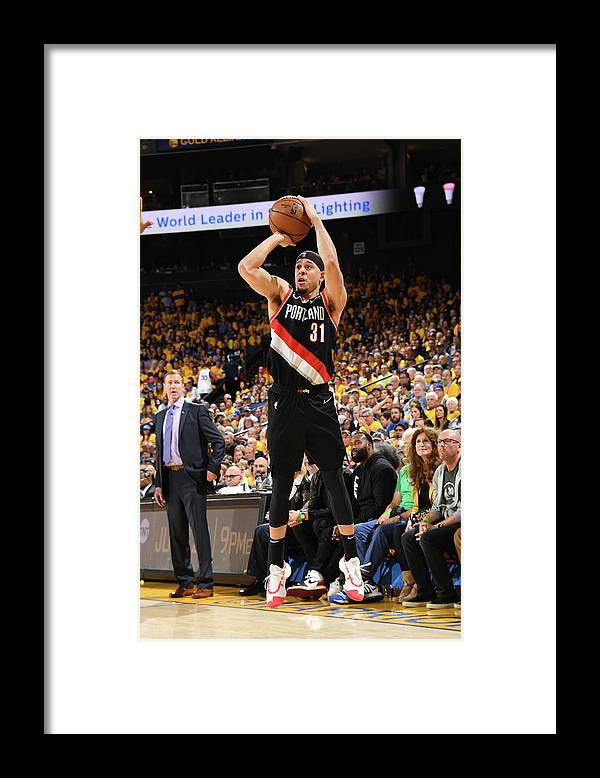 Playoffs Framed Print featuring the photograph Seth Curry by Andrew D. Bernstein