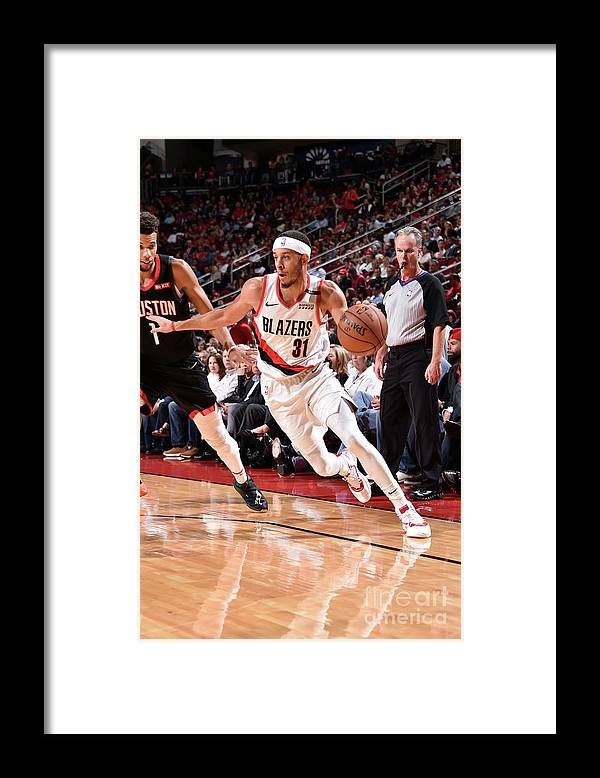 Nba Pro Basketball Framed Print featuring the photograph Seth Curry by Bill Baptist