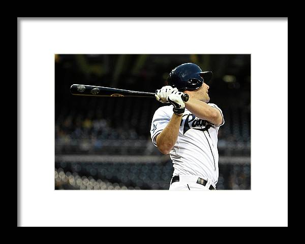 California Framed Print featuring the photograph Seth Smith by Denis Poroy