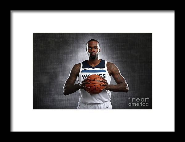 Media Day Framed Print featuring the photograph Shabazz Muhammad by David Sherman