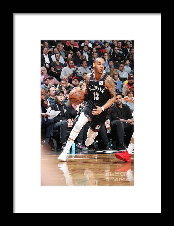 Nba Pro Basketball Framed Print featuring the photograph Shabazz Napier by Nathaniel S. Butler