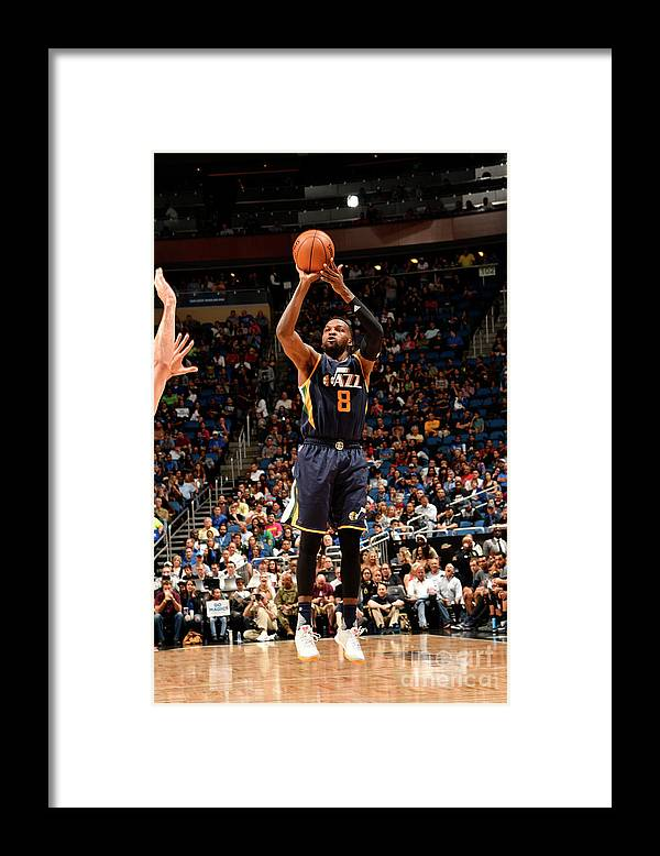 Nba Pro Basketball Framed Print featuring the photograph Shelvin Mack by Fernando Medina