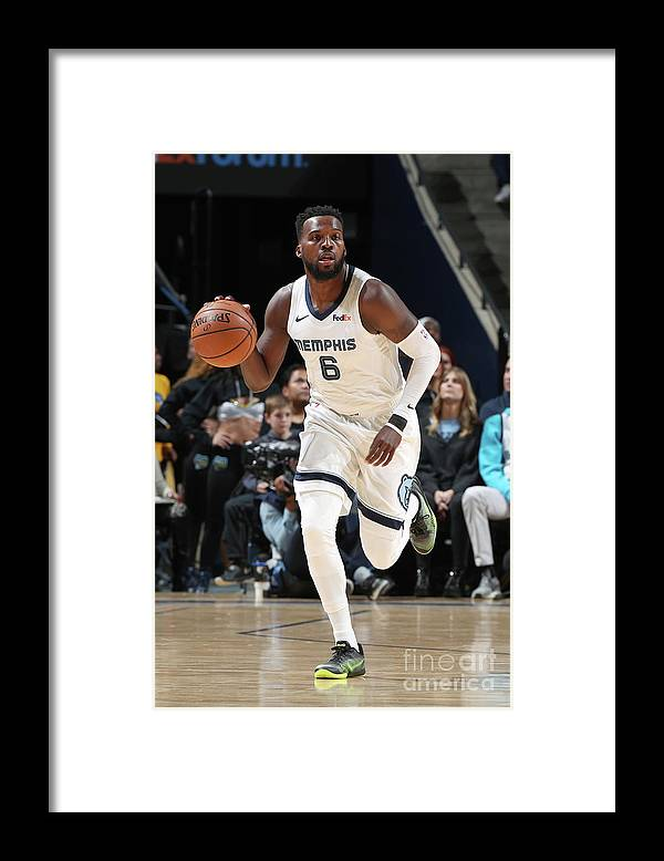 Nba Pro Basketball Framed Print featuring the photograph Shelvin Mack by Joe Murphy