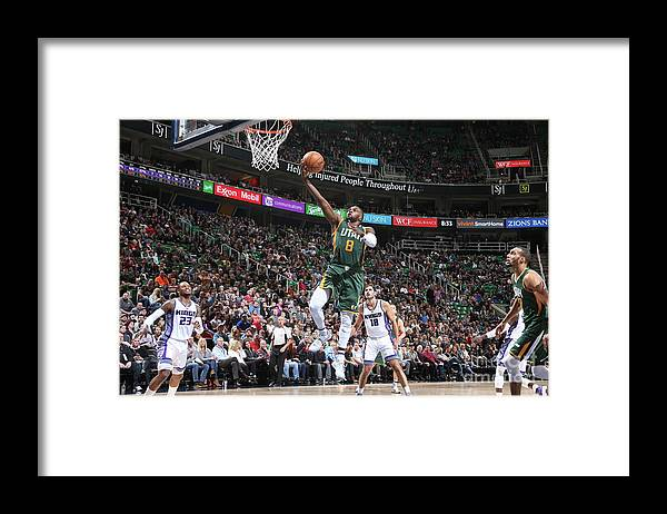 Nba Pro Basketball Framed Print featuring the photograph Shelvin Mack by Melissa Majchrzak