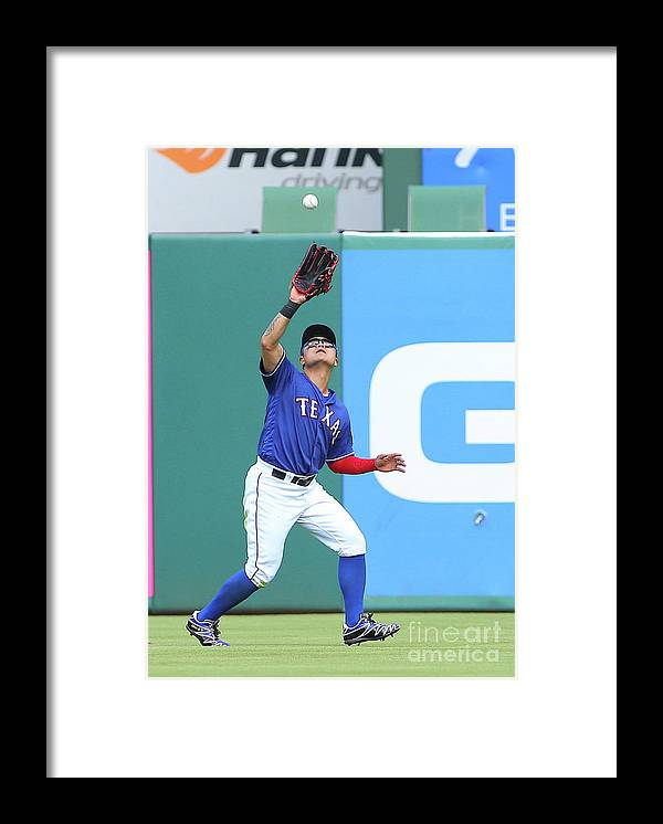 People Framed Print featuring the photograph Shin-soo Choo by Rick Yeatts