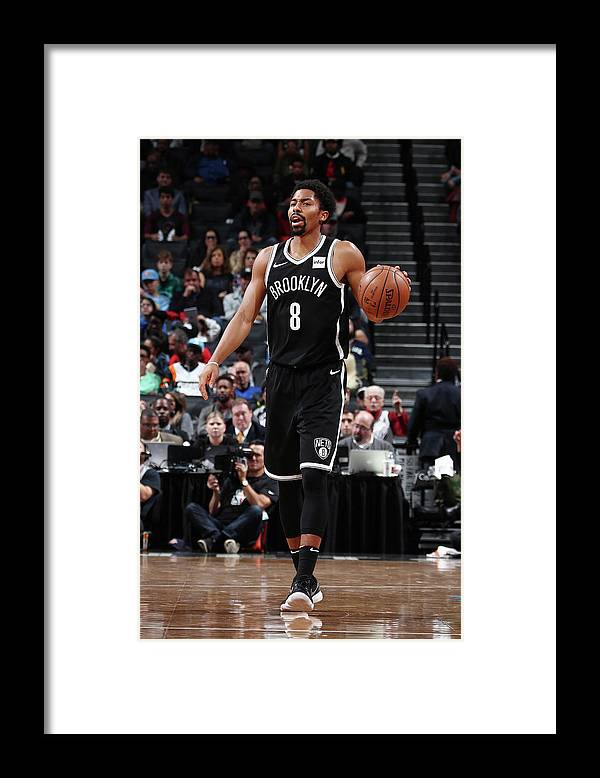 Sport Framed Print featuring the photograph Spencer Dinwiddie by Nathaniel S. Butler