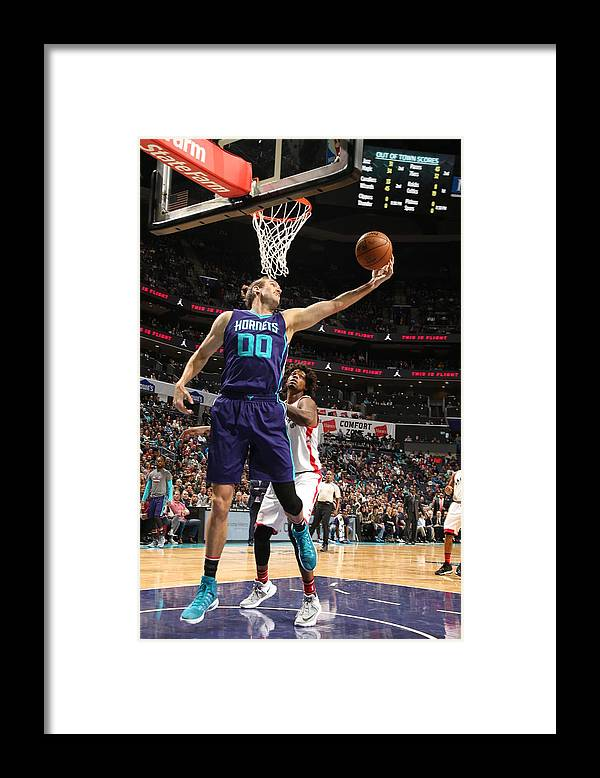 Nba Pro Basketball Framed Print featuring the photograph Spencer Hawes by Kent Smith
