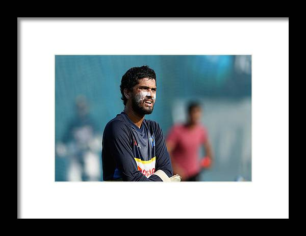 People Framed Print featuring the photograph Sri Lanka Nets Session by Francois Nel