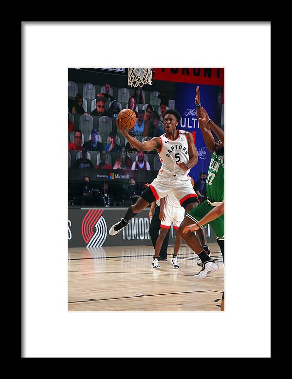 Nba Pro Basketball Framed Print featuring the photograph Stanley Johnson by Bill Baptist