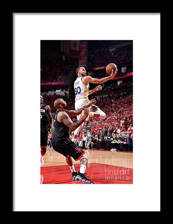 Playoffs Framed Print featuring the photograph Stephen Curry by Bill Baptist