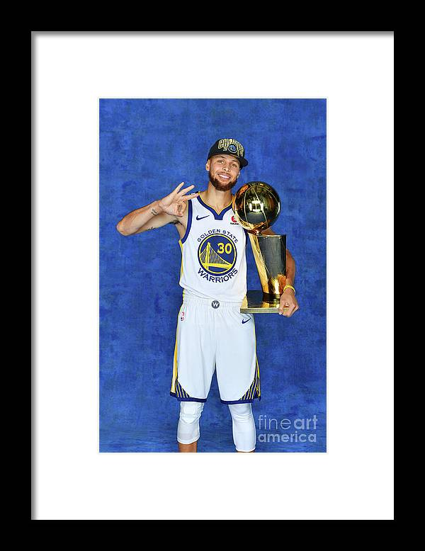 Playoffs Framed Print featuring the photograph Stephen Curry by Jesse D. Garrabrant