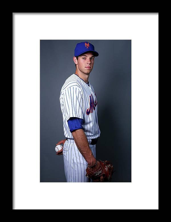 American League Baseball Framed Print featuring the photograph Steven Matz by Elsa