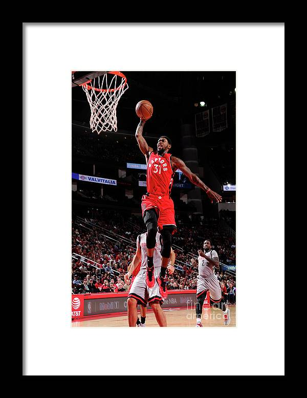 Nba Pro Basketball Framed Print featuring the photograph Terrence Ross by Bill Baptist