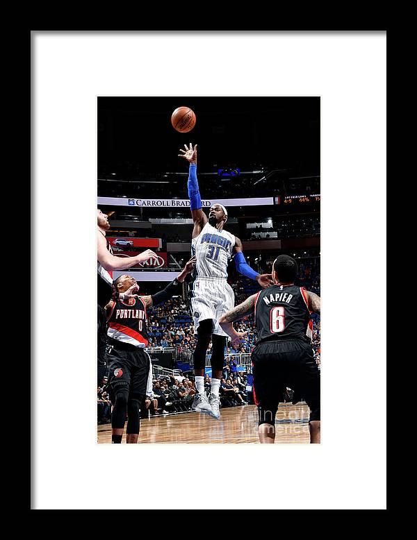 Nba Pro Basketball Framed Print featuring the photograph Terrence Ross by Fernando Medina