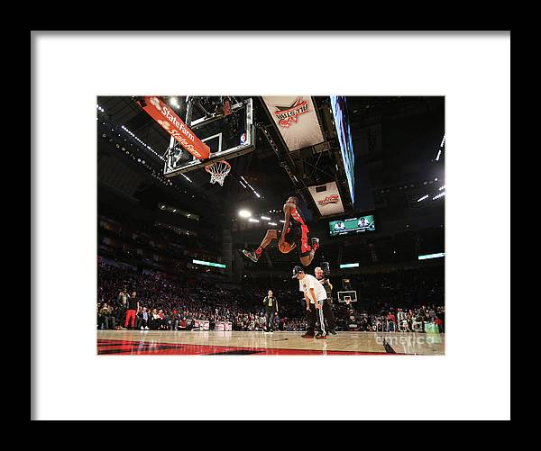 Nba Pro Basketball Framed Print featuring the photograph Terrence Ross by Nathaniel S. Butler