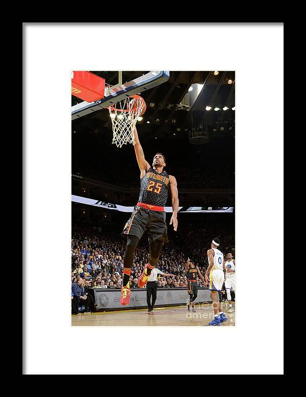 Nba Pro Basketball Framed Print featuring the photograph Thabo Sefolosha by Noah Graham