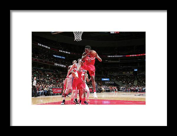 Nba Pro Basketball Framed Print featuring the photograph Thomas Bryant by Ned Dishman