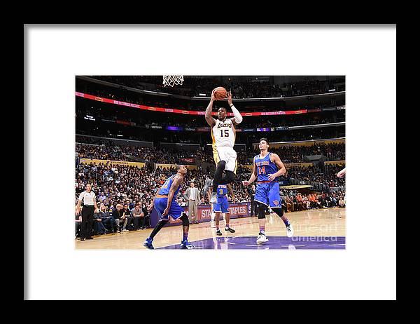 Nba Pro Basketball Framed Print featuring the photograph Thomas Robinson by Andrew D. Bernstein