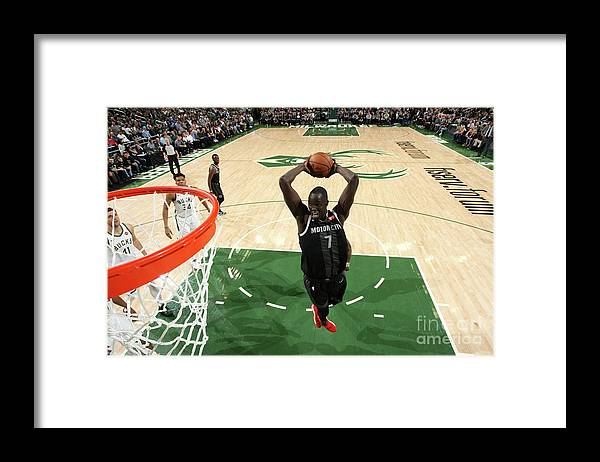 Playoffs Framed Print featuring the photograph Thon Maker by Gary Dineen