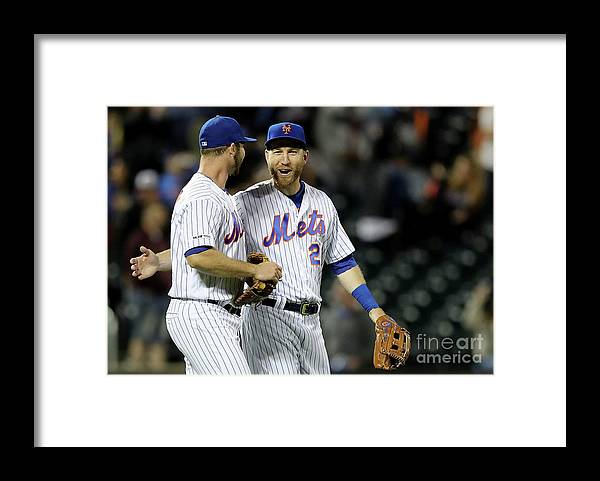 Three Quarter Length Framed Print featuring the photograph Todd Frazier by Elsa