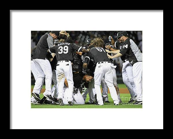 People Framed Print featuring the photograph Todd Frazier by Jonathan Daniel