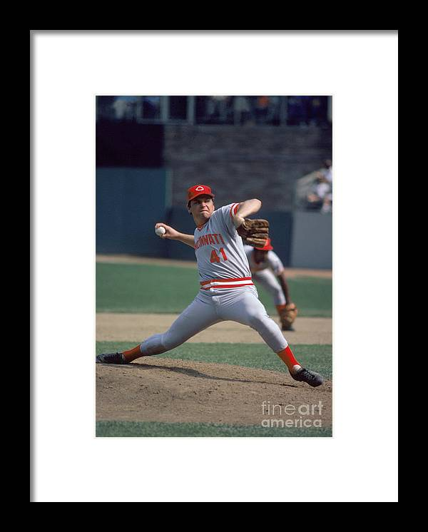Tom Seaver Framed Print featuring the photograph Tom York by Rich Pilling