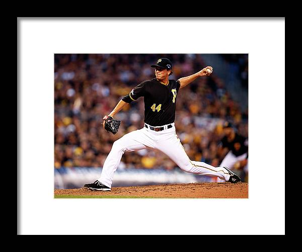 American League Baseball Framed Print featuring the photograph Tony Watson by Justin K. Aller