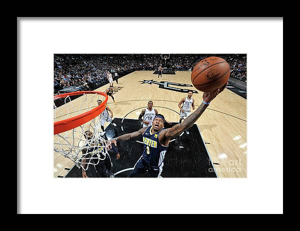 Nba Pro Basketball Framed Print featuring the photograph Torrey Craig by Mark Sobhani
