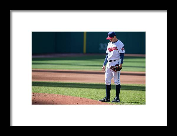 American League Baseball Framed Print featuring the photograph Trevor Bauer by Jason Miller