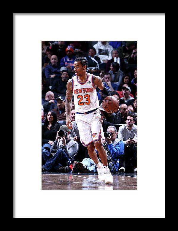 Nba Pro Basketball Framed Print featuring the photograph Trey Burke by Nathaniel S. Butler