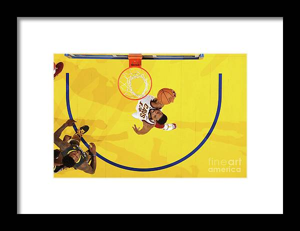Playoffs Framed Print featuring the photograph Tristan Thompson by Andrew D. Bernstein