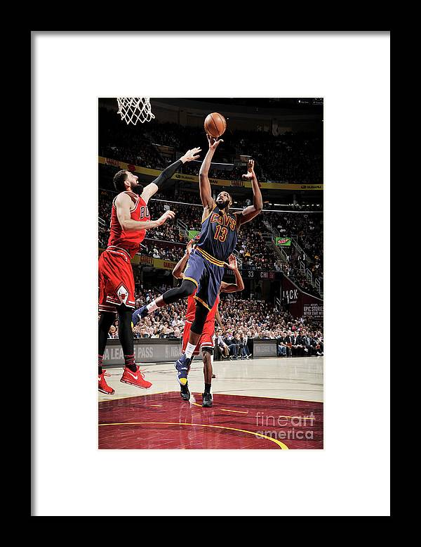 Nba Pro Basketball Framed Print featuring the photograph Tristan Thompson by David Liam Kyle