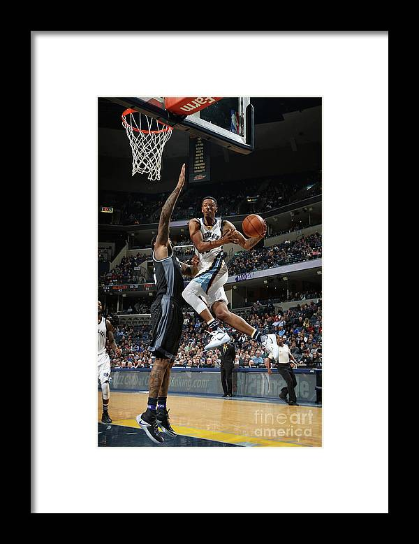 Nba Pro Basketball Framed Print featuring the photograph Troy Williams by Joe Murphy